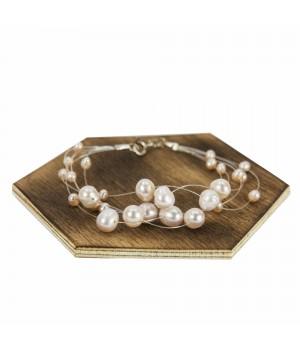 Bransoletka z perłami