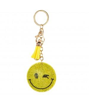 "Brelok ""Smile"" żółty"