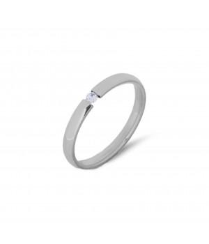 Stalowy pierścionek z...