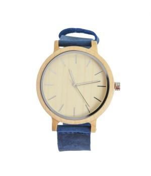 Elegancki drewniany zegarek...
