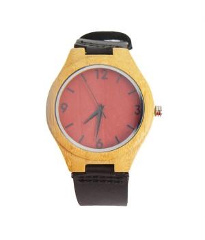 Drewniany zegarek z...