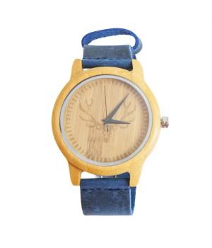 """Drewniany zegarek """"Jelonek""""..."""