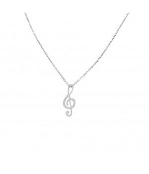Silver celebrity necklace....