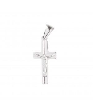 Srebrny krzyżyk z postacią...