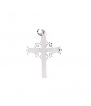 Srebrny krzyżyk ozdobny -...