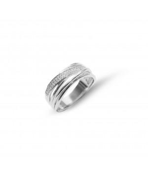 Elegancki pierścionek z...