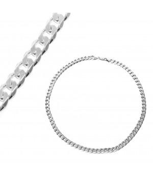Gruby srebrny łańcuch, 60 cm