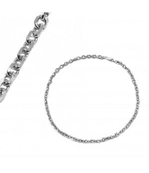 Srebrny łańcuch męski, 45 cm