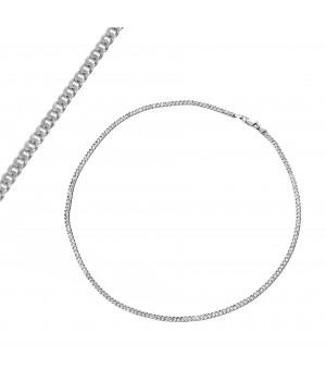 Srebrny łańcuszek męski, 45 cm