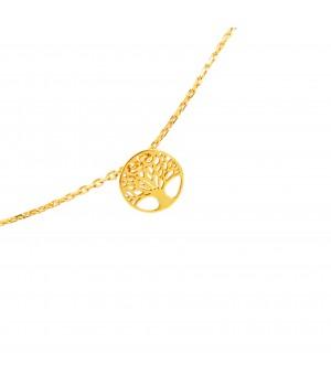 Silver gilded bracelet...