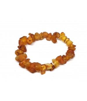 Amber bracelet on an...