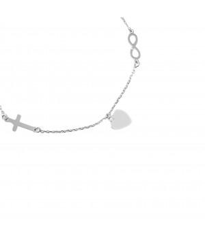 Silver bracelet celebrity...