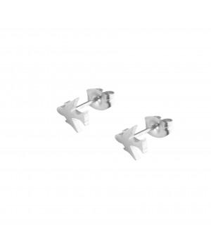 """Stalowe kolczyki """"Samolot""""..."""