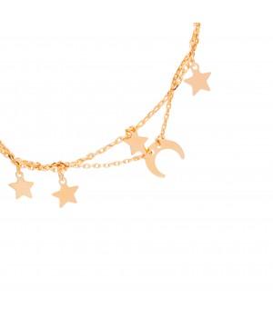 Silver bracelet - stars and...
