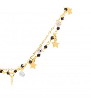Silver bracelet - stars