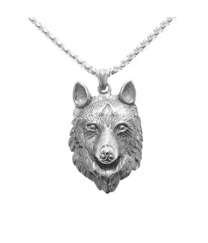 Necklace Wolf