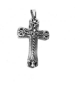 Zawieszka krzyż oksydowany