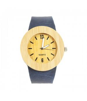 Modny drewniany zegarek z...