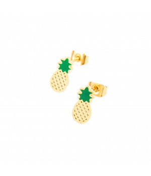 """Kolczyki stalowe """"Ananas"""""""
